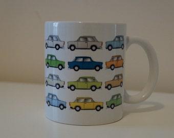 Trabants Everywhere - Mug - DDR Ostalgie