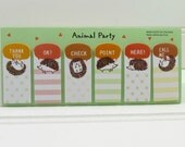 Hedgehog Sticky Flags, Cute Hedgehog Stickies, Hedgehog Sticky Notes, Post-It Flags, Bookmarks, Removable Page Tabs, Hedgehog Journal Flags