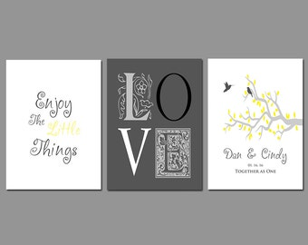 First 1st Paper Anniversary - Wedding Gift - Gift for Couples - Add Any Wording and Your Names and Dates in Any Color