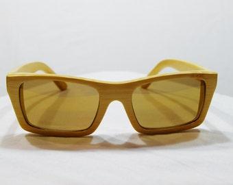 Huzzy's Handmade - Wooden Sunglasses, Bamboo Sunglasses, Wooden Sunglasses Gift, Wooden Eyewear, Sunglasses Wooden