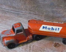 1960's Mobil Gas Tootsie Toy Tanker