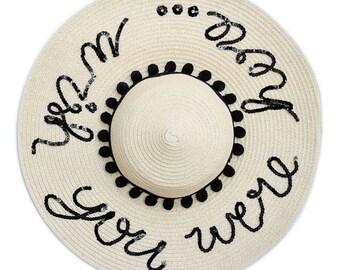 Wish You Were Here... Floppy Sun Hat