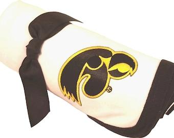 Iowa Hawkeye Baby Receiving Blanket