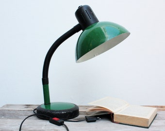 on sale table lamp vintage green desk lamp study veneta lumi made in italy