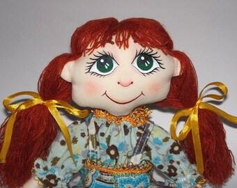 Green-eyed doll