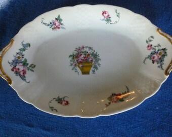 Vintage Haviland Limoges Oval Plate