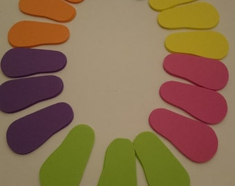 Canada Precision Cut 2 mm foam Doll Soles to fit an American Girl and Other Similar 18 Inch Dolls