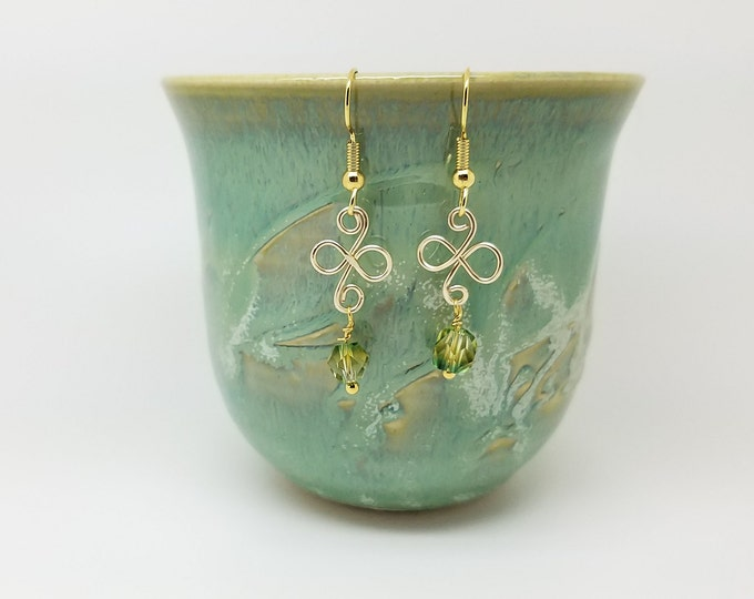 Pale green earrings, light green earrings, light mint earrings, green dangle, light green hoop, green wedding earrings, green earrings