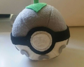 Custom Totoro Pokeball Plushy
