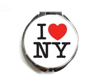 I <3 New York Compact mirror