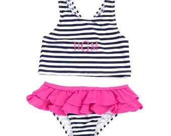 Children's Monogrammed Swimsuits