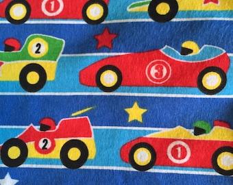 Race Cars Toddler bed sheet set, 3 piece Toddler Sheet Set