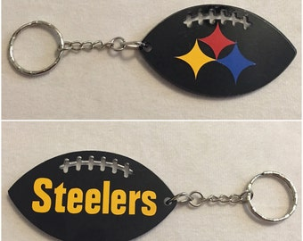 Pittsburgh Steelers Football Acrylic Keychain