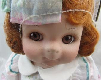 "Grandma's Little Angel, Colleen Applewhite, World Gallery Porcelain Doll 24"""