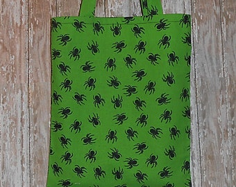 Kid's/Toddler Tote Bag- Spiders