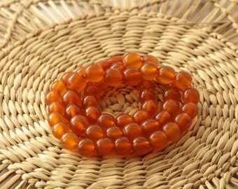 BEADS Baltic Amber Сhildren Necklace Antique Honey Pressed 18.70 g Jewellery ж