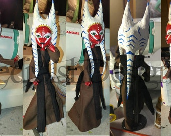 Star Wars Togruta Shaak Ti Inspired custom Monster High doll