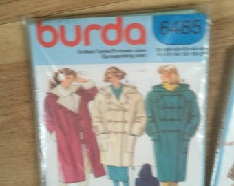 Selection of 5 Vintage Sewing Patterns