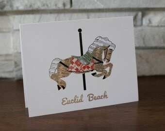 Euclid Beach Carousel Note Cards
