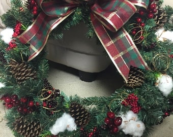 Christmas Wreath - made to order
