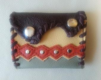 leather wallet change purse