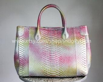 Replica Hermes Birkin Genuine Python Bag Exotic by IndoPython