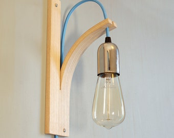 English Ash Bracket Wall Light