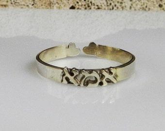Hebrew name ring , Silver adjustable ring , personalized ring , new mom ring , personalized  brass ring , custom name ring , Gold ring