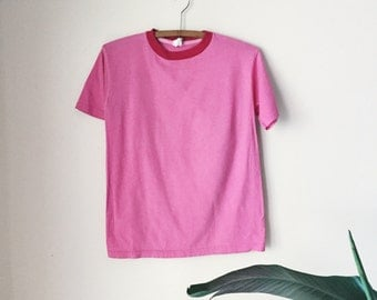 Two-Tone Pink T-shirt