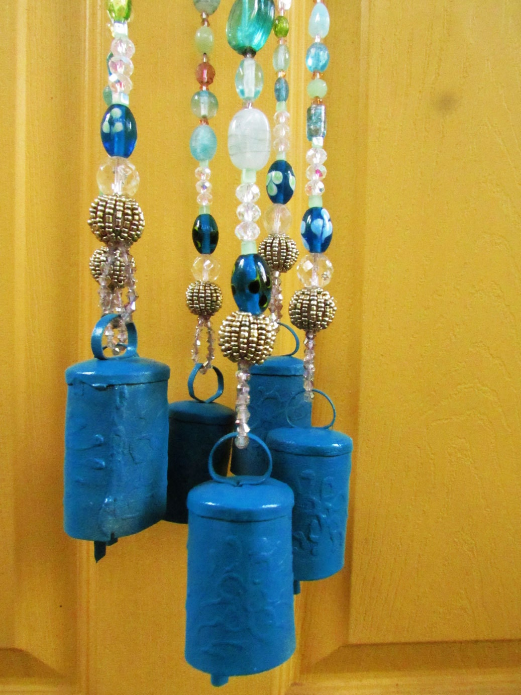 Bell Hanging Mobile Decor Mobile Bells Décor by RonitPeterArt