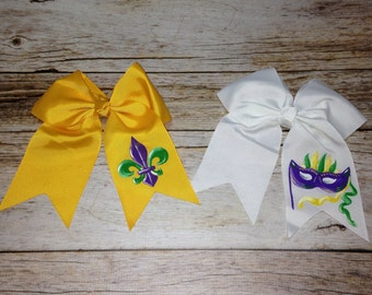 Hand Painted Hair Bows