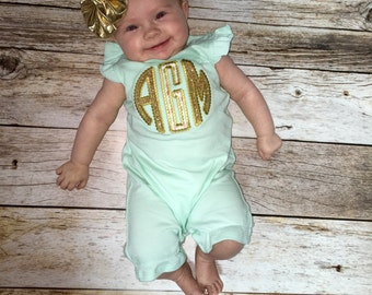 Ruffle Applique Outfit