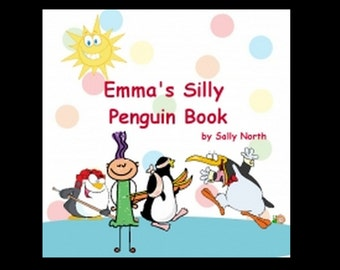 Free Shipping Personalized children's book.  One of a kind book, made to order, use any name. animal book