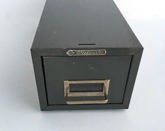Industrial Storage Gray Filing Storage Box Office Organization 1 Drawer Steel Master
