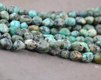 Natural turquoise beads freeform turquoise bead for bracelet necklace healing crystal A078