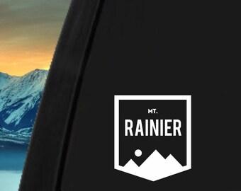Mount Rainier Sticker For Car Window, Bumper, Or Laptop