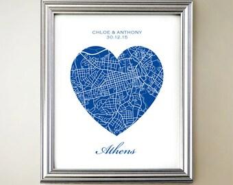 Athens GA Heart Map