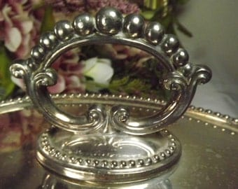 Silverplate, Vintage, Silver Plated Lidded Oval Serving Dish (1939)