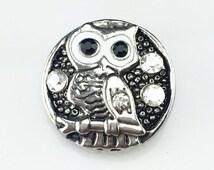 Owl Always Love You Snap Charm