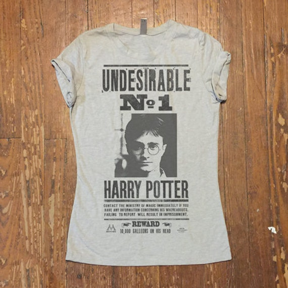 UNDESIRABLE No. 1 Harry Potter tee shirt Ministry of Magic