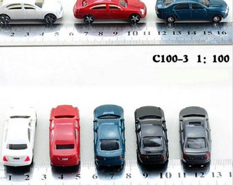 100 pieces/lot scale model materials 1:100 model car for Architecture