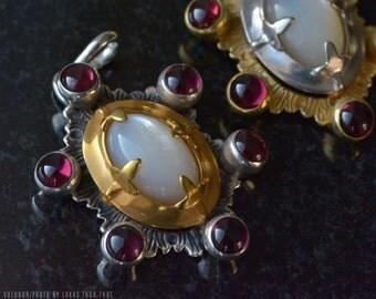 Gilded medieval pendant