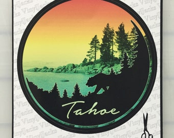 Lake Tahoe Scenic Sticker