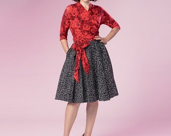Butterick Pattern B6285 Misses' Top and Skirt