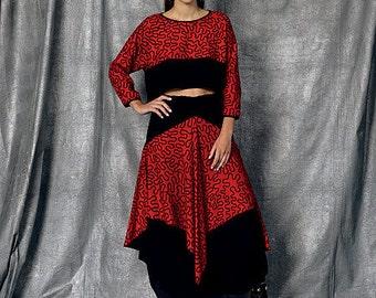 Vogue Pattern V1472 Misses' Top and Skirt