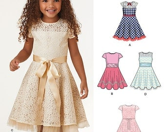 New Look Pattern 6359 Child's dresses