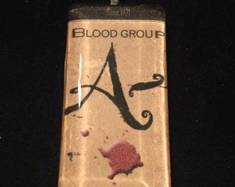 Creepy A- Blood Type Pendant.