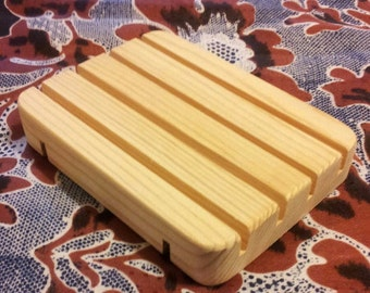 60 Wholesale handcrafted Cedar wood soap dishes - Rustic all natural pine wooden soap decks.