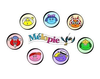 Melopie Music Notes / Montessori education / Montessori material / Music school / Music Kindergarten / Kids music notes