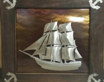 3d sailing ship